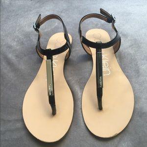 Size 6.5 Calvin Klein Sandals